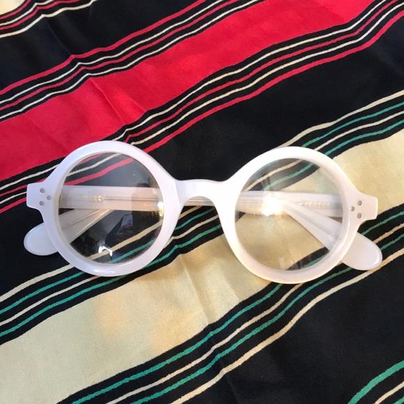 Vintage White Plastic Eyeglass Frames   Poshmark